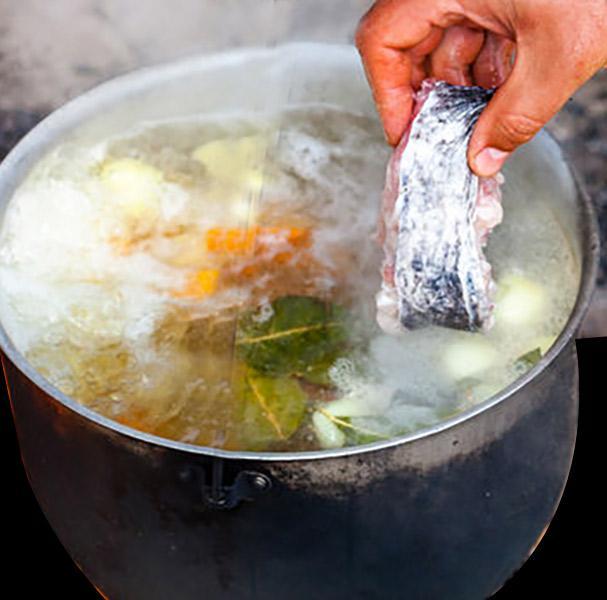 como hacer un fumet de pescado