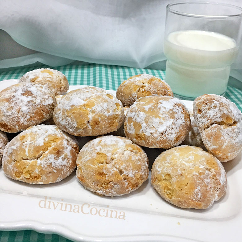 galletas de leche arabes