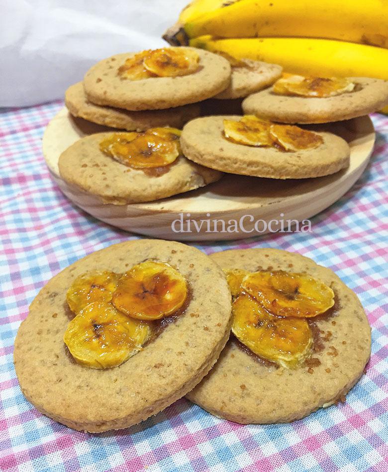 galletas de platano