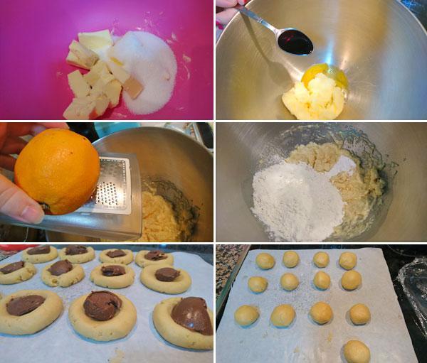galletas rellenas de nutella o nocilla paso a paso