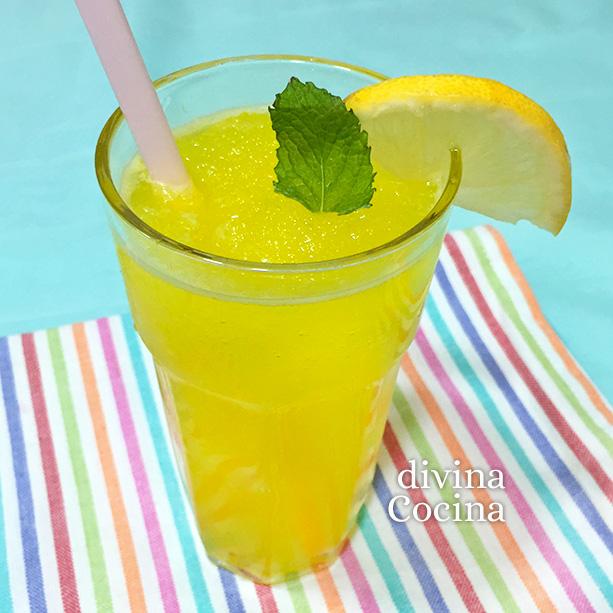 granizado limon casero