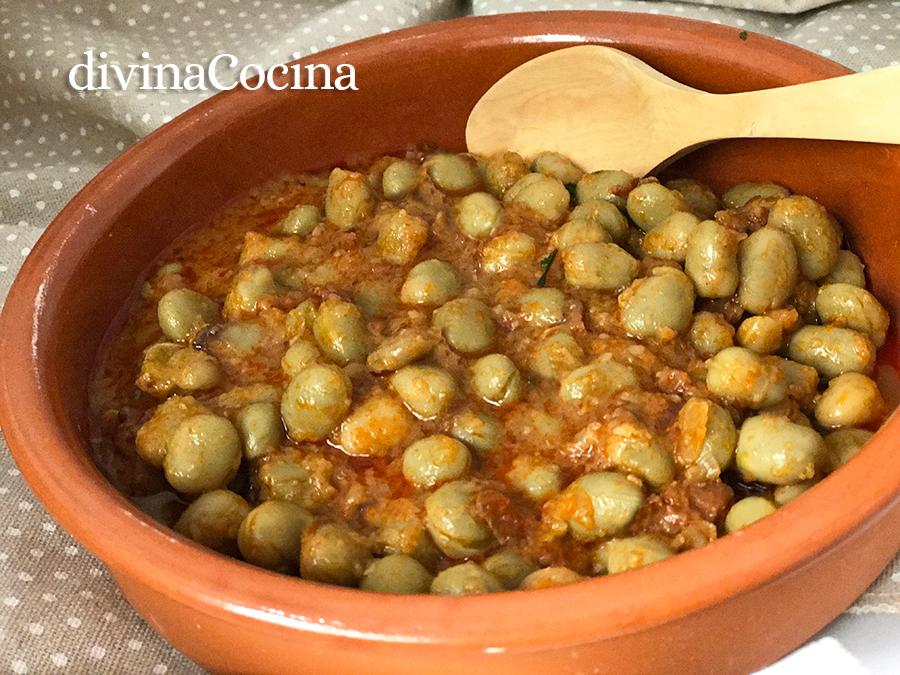 Recetas De Habas Esparragadas Con Huevo Divina Cocina