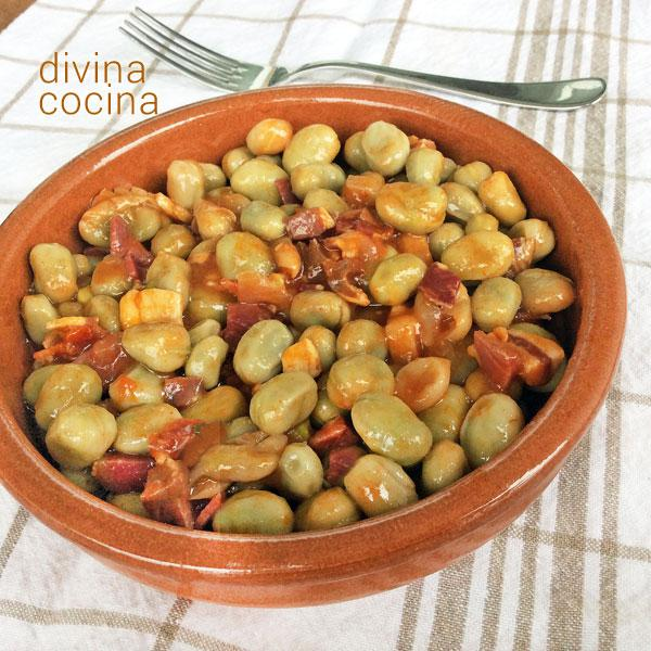 Receta De Habas Guisadas Divina Cocina