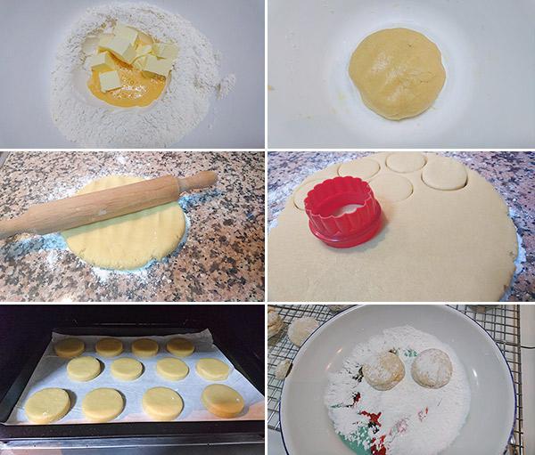 recetas de navidad de hojaldrinas