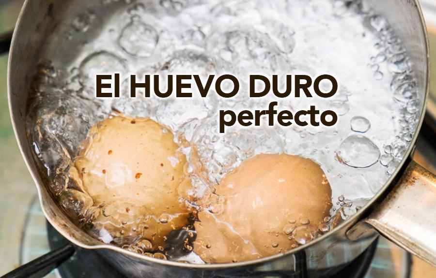el huevo duro perfecto trucos