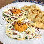 Huevo a la plancha con tropezones