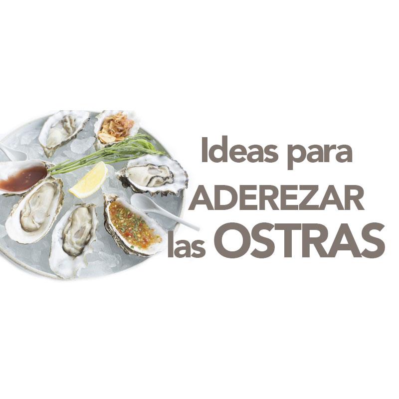 ideas para aderezar las ostras