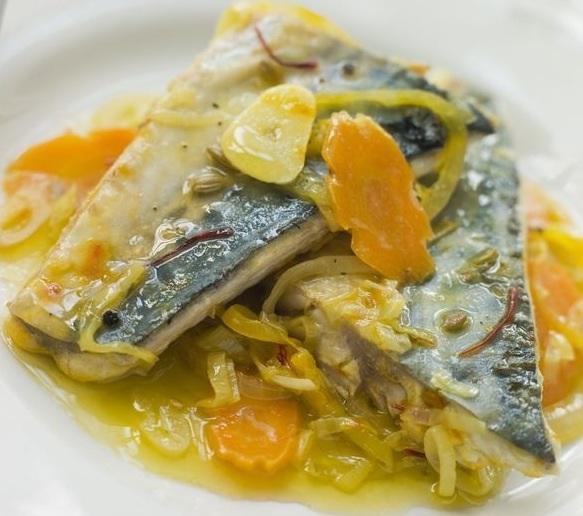 Escabeche de pescado azul