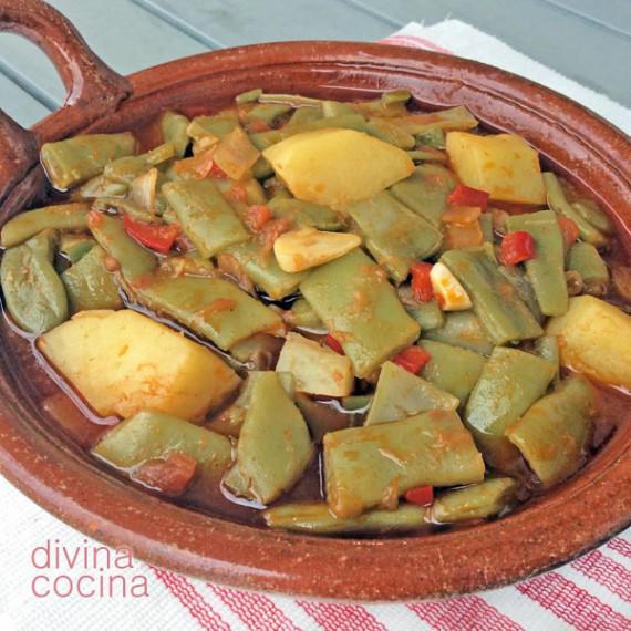 Judías Verdes Guisadas Receta De Divina Cocina