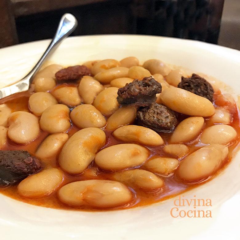 Judiones Con Chorizo Y Morcilla Receta De Divina Cocina