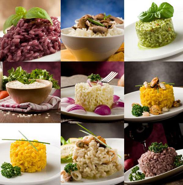 los puntos del arroz, seco, meloso, caldoso