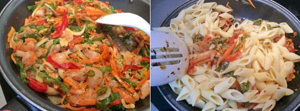 macarrones-con-pollo-y-verduras