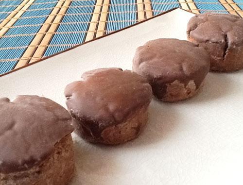 receta de mantecados de chocolate