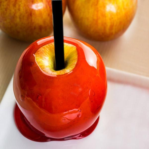 manzanas de caramelo