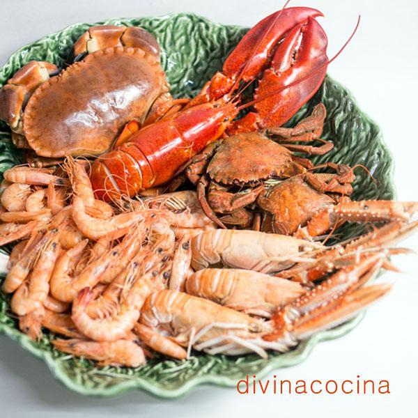 cocción de mariscos