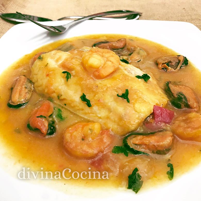 Receta De Merluza A La Marinera Tradicional Divina Cocina