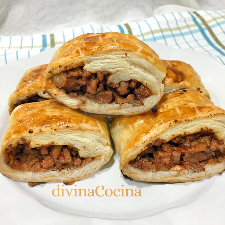 mini empanadas de carne