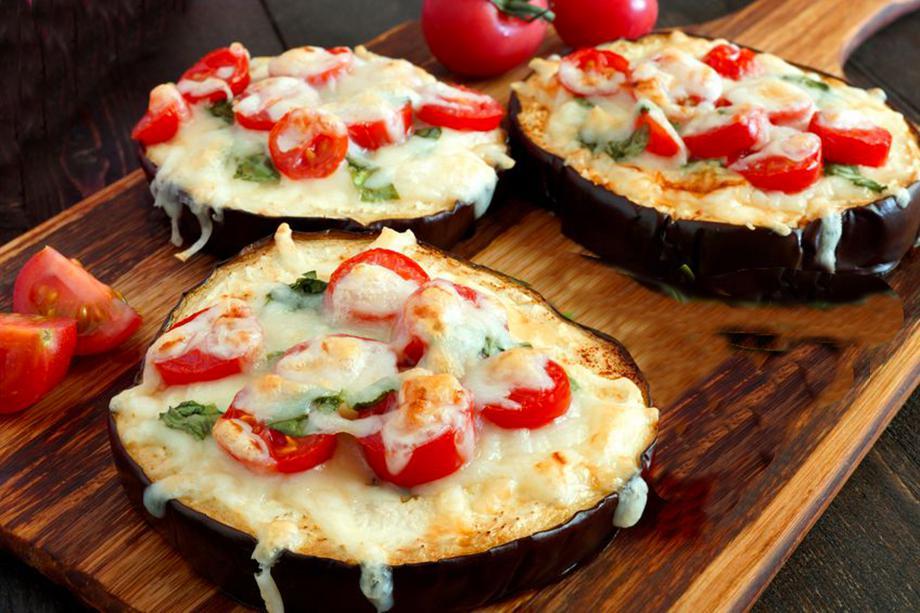 mini pizzas de berenjena 1