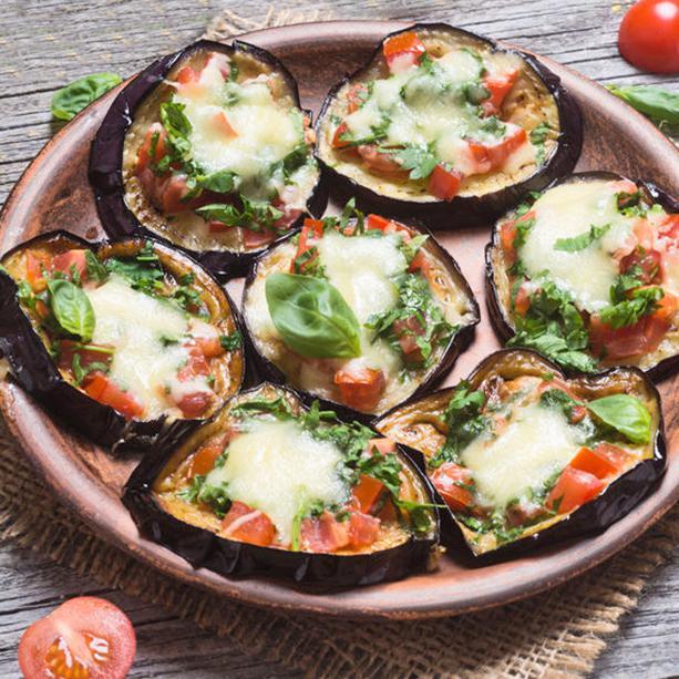 mini pizzas de berenjena 2