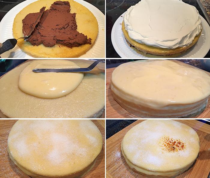 montaje tarta san marcos paso a paso