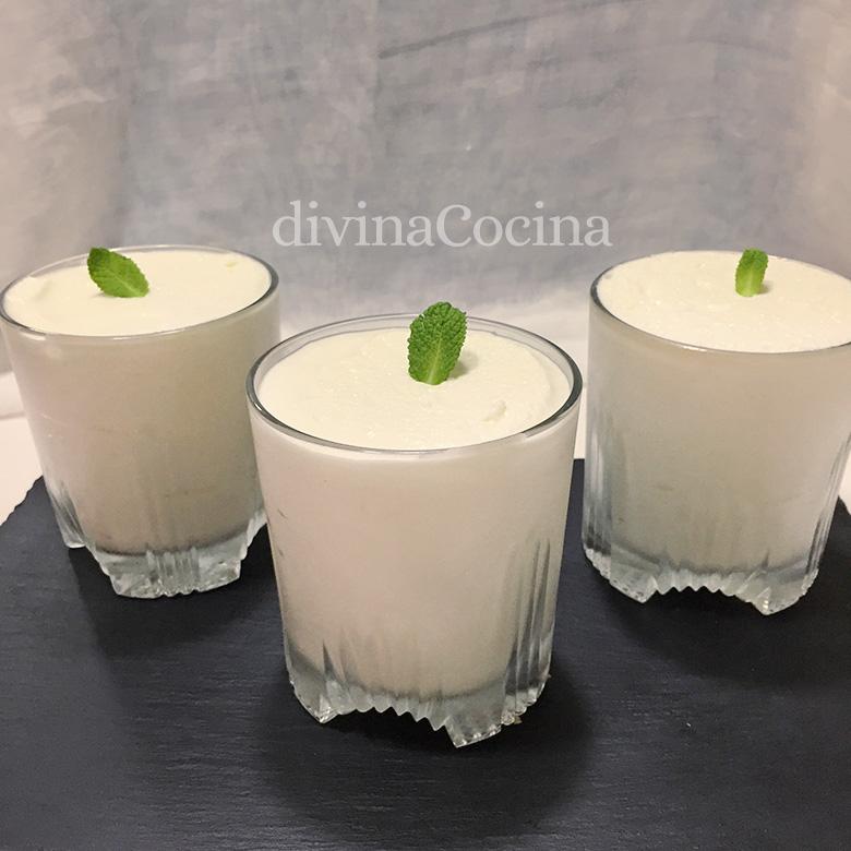 receta de mousse de leche condensada