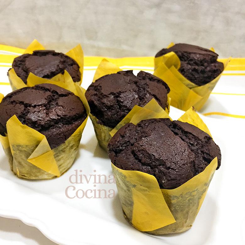 muffins de chocolate negro 1