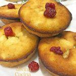 Muffins de queso crema