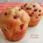 Muffins de frutos rojos