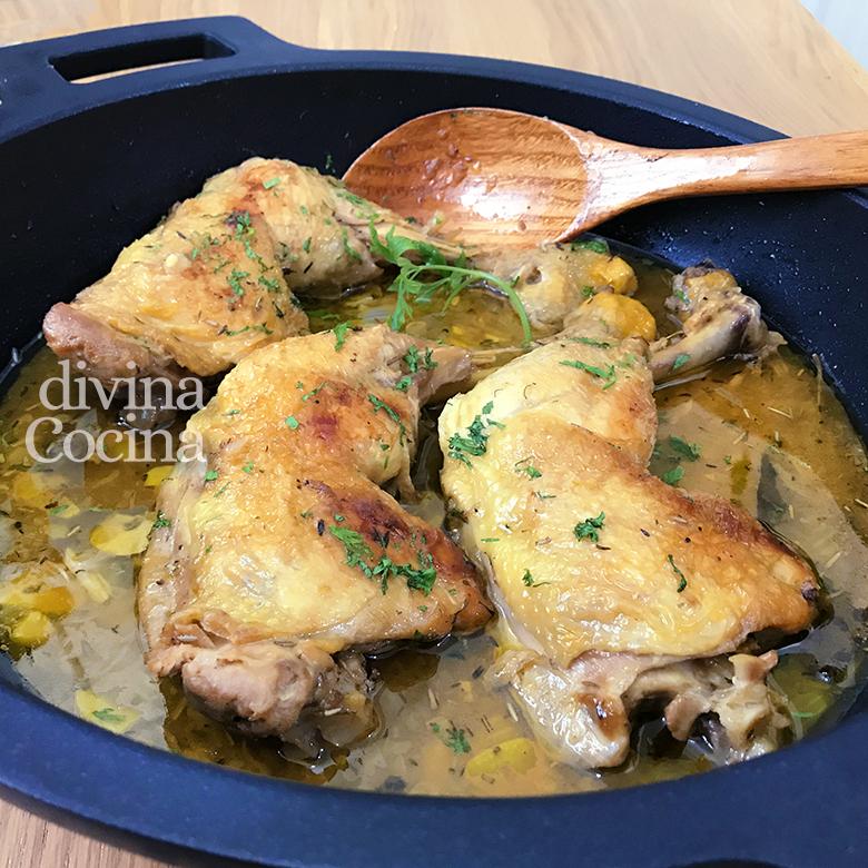 Recetas de cocina con pollo videos