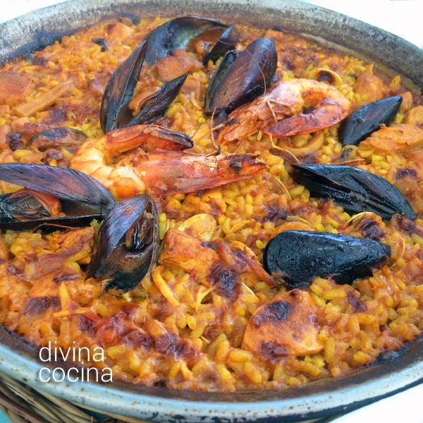 Paella Marinera Receta De Divina Cocina