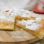 Pantxineta o Panchineta (pastel de hojaldre y crema)