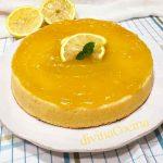 Pastel de limón estilo inglés