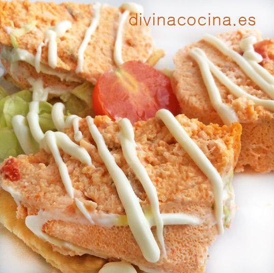 Pastel de pescado tradicional