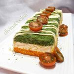 Pastel de verduras por capas