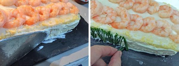 pastel de marisco con pan de molde paso a paso