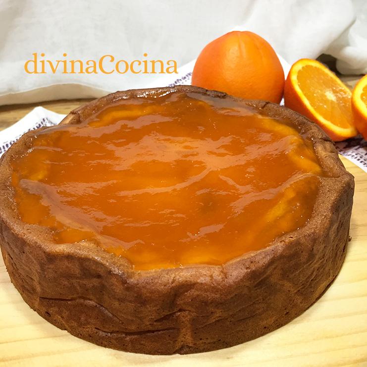 pastel turco de yogur mermelada
