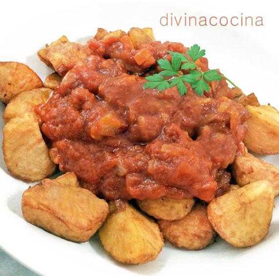patatas con sofrito