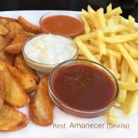 5 salsas para patatas fritas