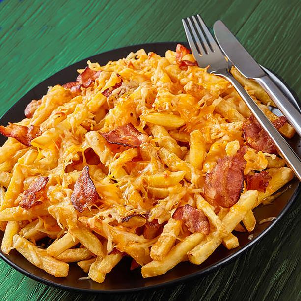Receta de Patatas con Queso y Bacon - Divina Cocina 26def3a75e86