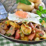 Patatas a la tirolesa (Gröstl)