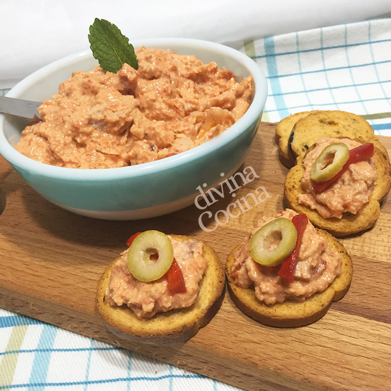 Paté De Atún Y Cangrejo Receta De Divina Cocina