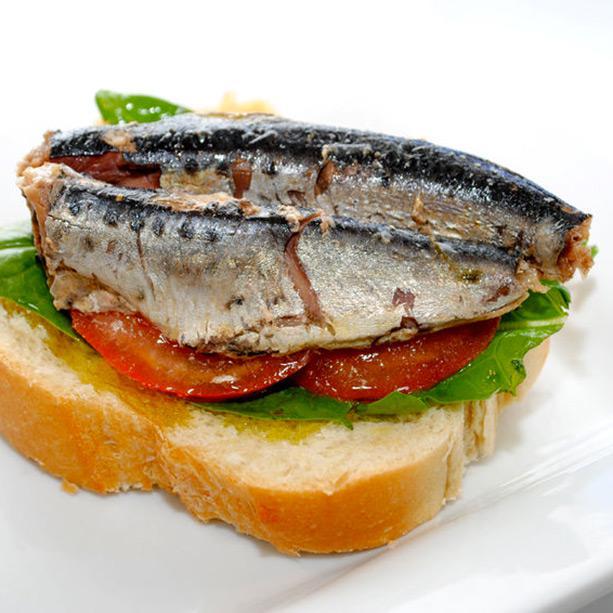 receta de pinchos con sardinas