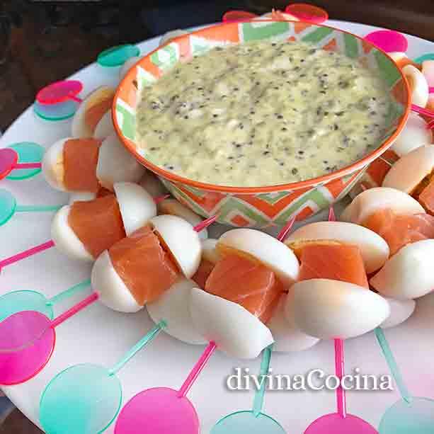 recetas de pinchos de aperitivos
