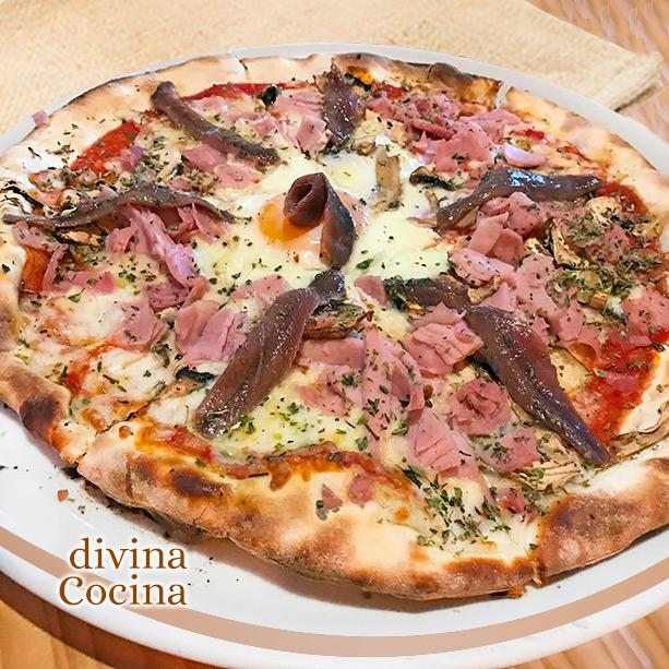Pizza Con Huevo Receta De Divina Cocina