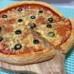 Cómo hacer pizza con masa de hojaldre