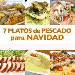 7 recetas de pescado para Navidad