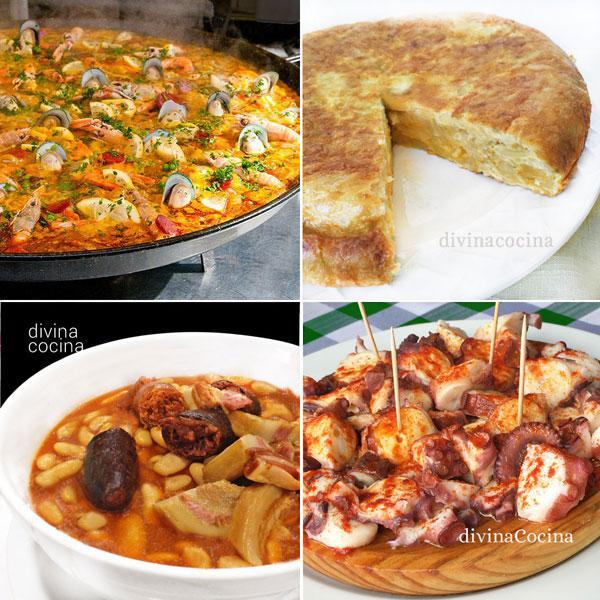 platos típicos de la cocina española
