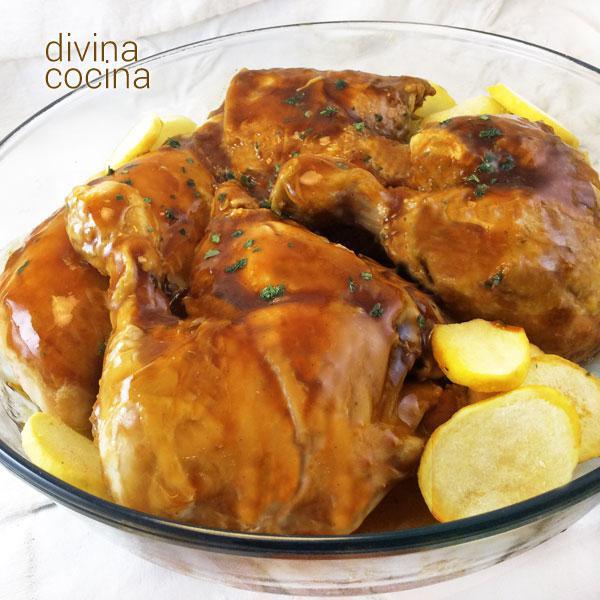 Pollo A La Miel Receta De Divina Cocina