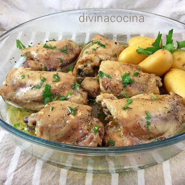 Receta De Pollo Guisado En Microondas Divina Cocina