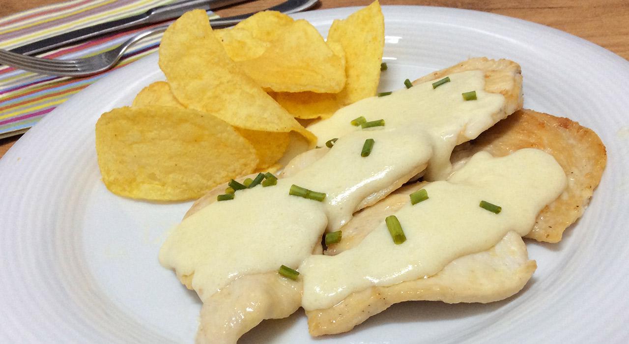 pechuga de pollo al queso